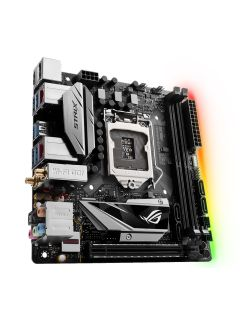 ASUS has two new mini-ITX ROG Strix motherboards with Aura Sync RGB lighting
