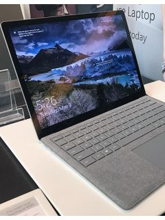 A hands-on session with the Microsoft Surface Laptop
