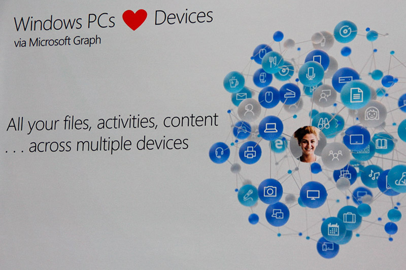Thanks to the Microsoft Graph, Windows 10 Fall Creators Update will improve your experiences with other devices