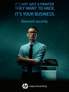 HP Print Security reduces data breach risks via printers in businesses