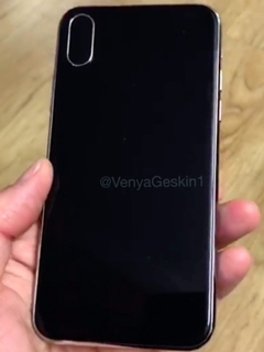 An iPhone 8 dummy unit revealed in YouTube video