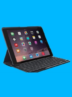 Logitech's Slim Folio keyboard case for the new iPad has amazing battery life