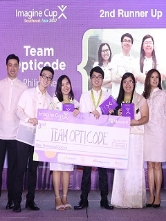 PH's Team Opticode advances to Microsoft Imagine Cup 2017 World Finals