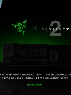 Razer and Bungie to bring you Destiny 2-themed peripherals