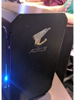 Gigabyte's AORUS external graphics dock is finally official