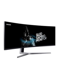 Samsung's new monitor is a curved 49-inch QLED beast
