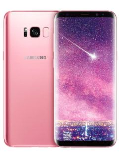 Samsung has launched a rose pink variant of the Galaxy S8+ in Taiwan