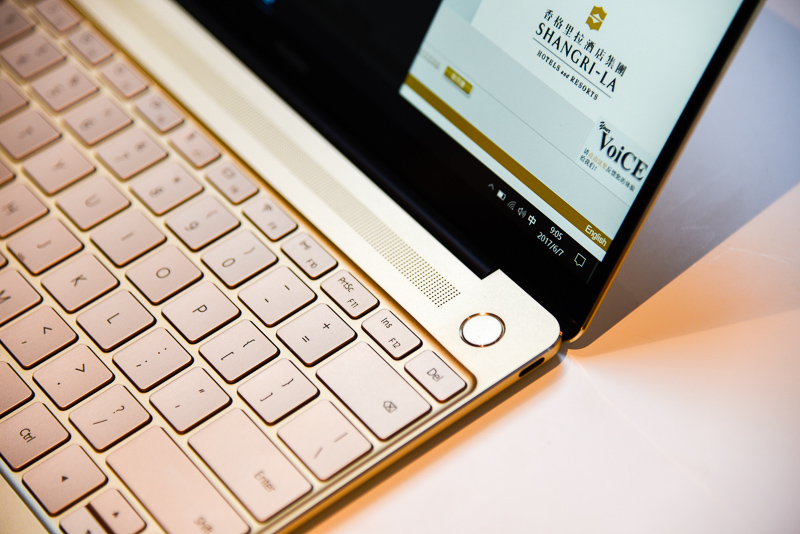 Hands-on with the Huawei Matebook X, which sure looks like something
