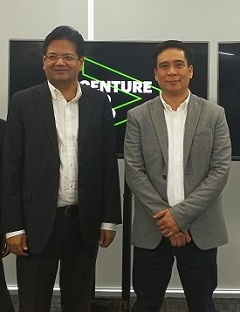 Accenture opens doors of first Liquid Studio in PH