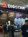 Biostar at Computex 2017: From boards to bitcoin mining machines