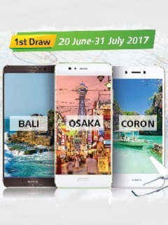 Win travel prizes with 'Change the Way You See the World with Huawei' promo