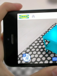 IKEA partners Apple on AR shopping app