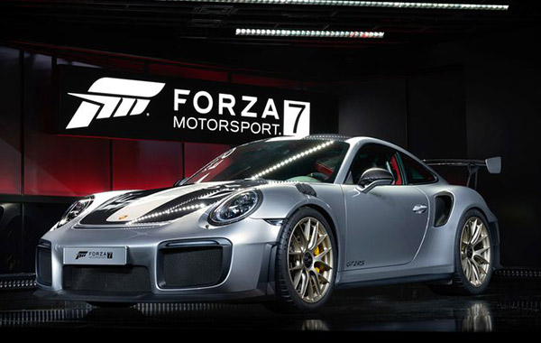 porsche unveils new 911 gt2 rs at e3. Black Bedroom Furniture Sets. Home Design Ideas