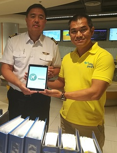 Cebu Pacific moves toward paperless cockpit by rolling out iPad for pilots