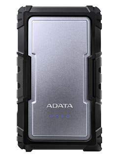 ADATA outs outdoorsy D16750 power bank with IP67 rating and two USB ports