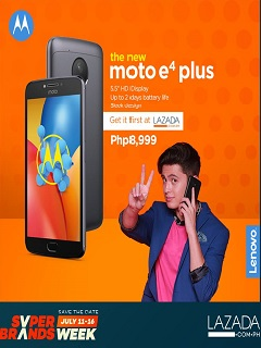 Moto E4 Plus now available on Lazada and in retail stores nationwide