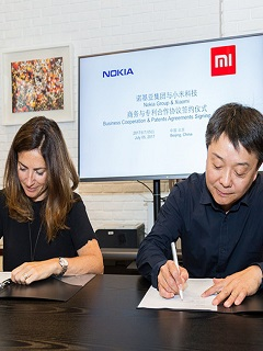 Nokia, Xiaomi ink deal to cross-license cellular standard patents from each other