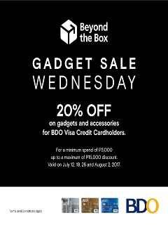 Beyond the Box's Gadget Sale Wednesday offers 20% off on gadgets and accessories