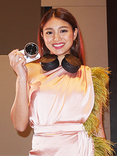 Sony PH picks Nadine Lustre anew as digital imaging and audio product ambassador