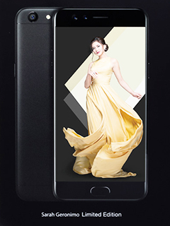 OPPO F3 Sarah Geronimo Limited Edition smartphone now available for pre-order