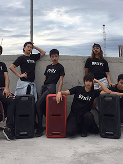UPeepz now powered by Sony EXTRA BASS high-power audio system