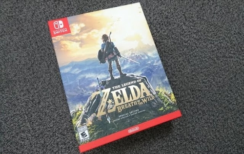Unboxing The Legend of Zelda: Breath of the Wild (Special Edition) boxset