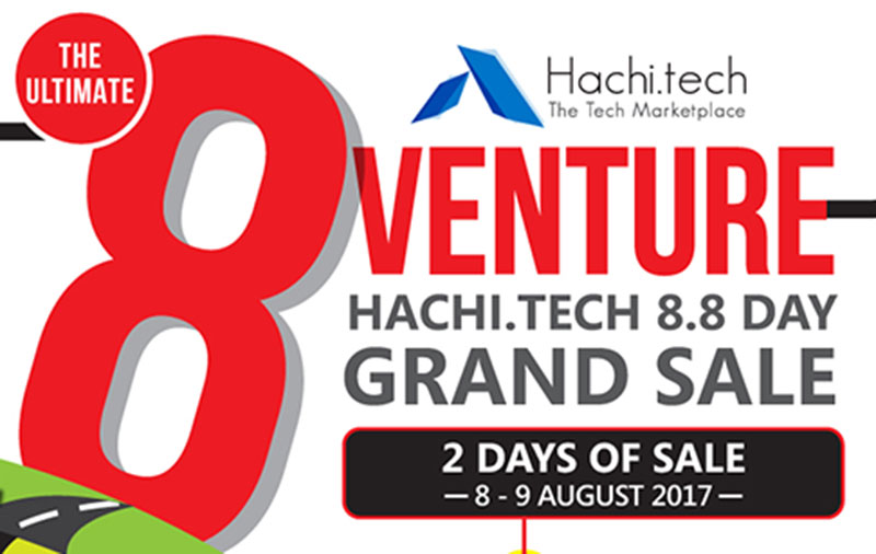 Deal Alert: 8 gadgets to buy at the 8.8 Hachi.tech Day Grand Sale