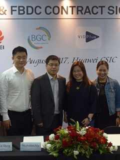 Huawei partners with BGC in for Season of Passion, launches Clipz and VidPlus app