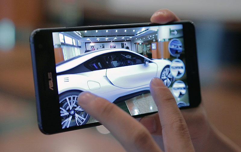 Exploring augmented reality with the ASUS ZenFone AR