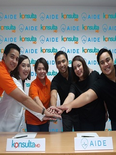 KonsultaMD inks partnership with home care app AIDE for an easy access to health services