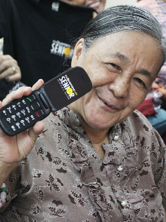 Cloudfone outs new feature phones with S.O.S button for senior citizens