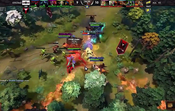 An AI is beating some of the world's best players in Dota 2