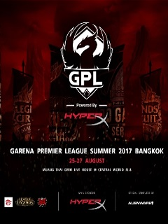 HyperX backs Garena Premier League 2017 Summer Split