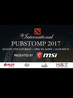 Watch The International Pubstomp 2017 this Saturday!