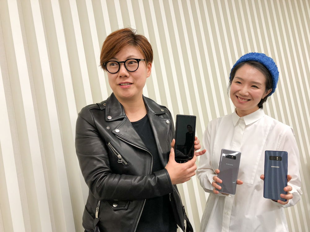Why doesn't the Note8 come in white? Samsung's designers explain this and more