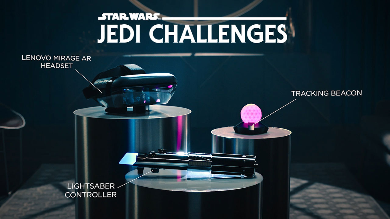 Unleash your inner Jedi with the Disney x Lenovo 'Star Wars: Jedi Challenges' AR headset and lightsaber