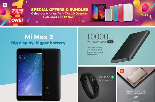 Deal alert: Mi Store on Lazada turns one with 9 special deals