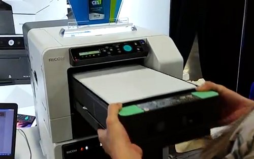 453b437ef Print your own tees in under 3 minutes with Ricoh's new compact garment  printer - Videos - HardwareZone.com.sg