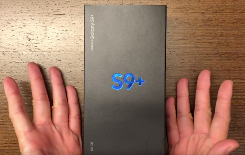 Unboxed: Samsung Galaxy S9+