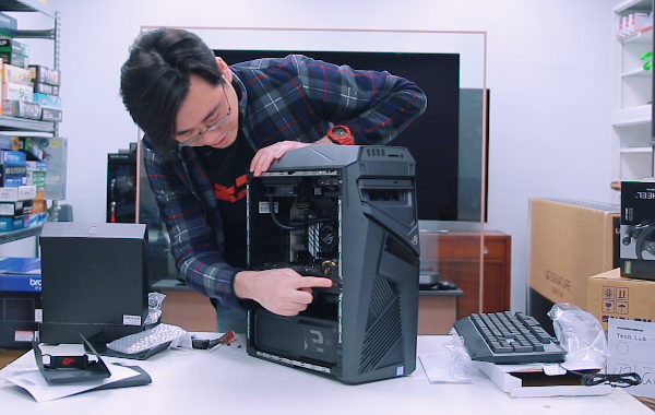 Watch: Unboxing the ASUS ROG Strix GL12 gaming tower