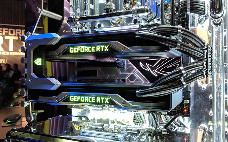 Nvidia Launches Geforce Rtx 2080 Ti 2080 And 2070 To