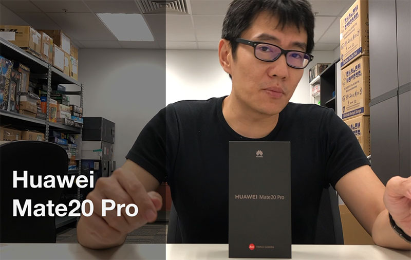 Watch: Hands-on with the Huawei Mate 20 Pro