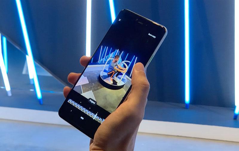Demo: Google Pixel 3 Top Shot camera feature