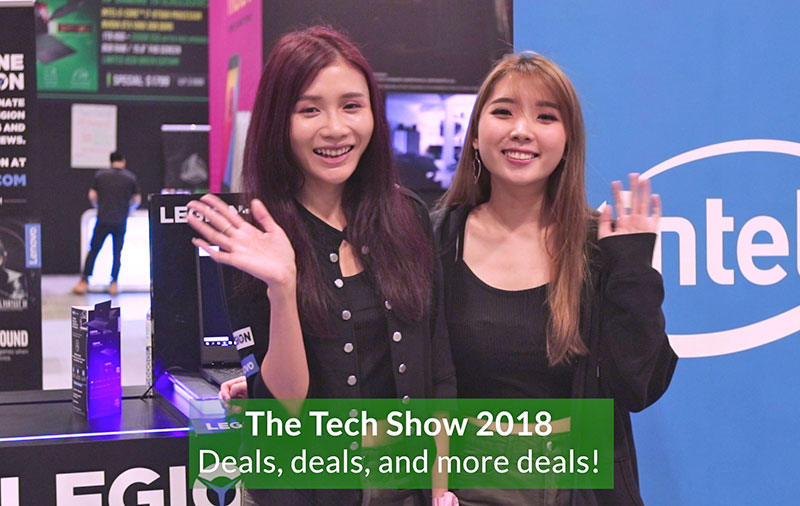 The Tech Show 2018 video highlights - Deals, deals, and more deals!