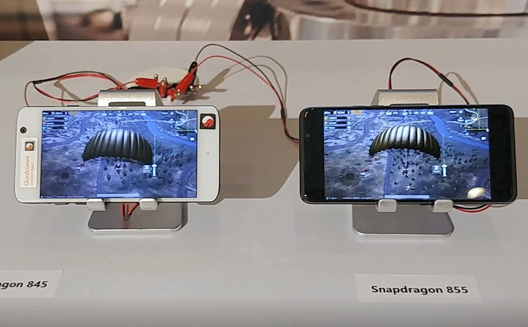 Snapdragon 855 vs. Snapdragon 845: Power efficiency demo
