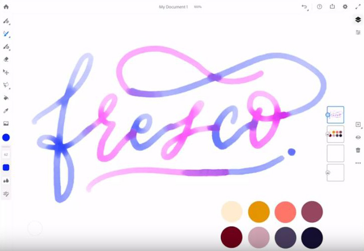 Here's how Adobe Fresco transforms your iPad Pro to an amazingly easy to use canvas