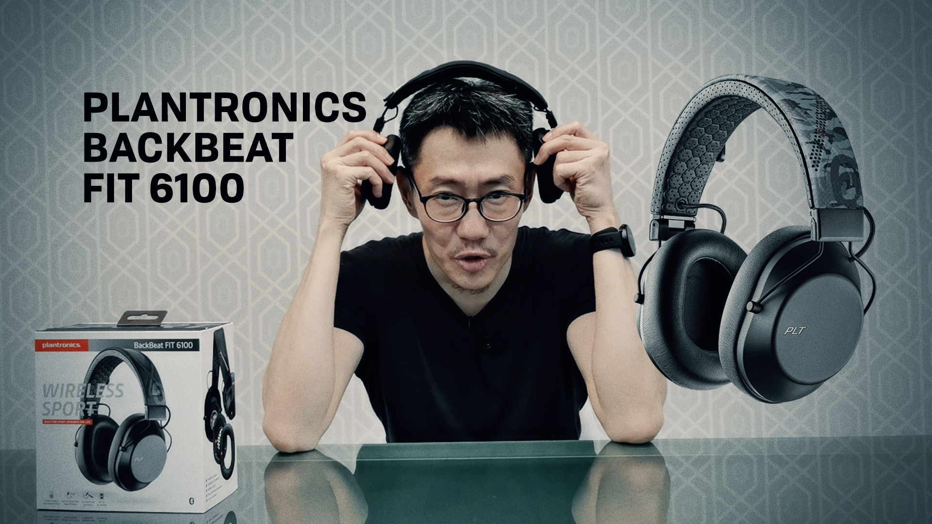 Plantronics BackBeat FIT 3200/6100 Video Review - Part 2