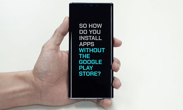 100 Sec Tech: Getting apps on the Huawei Mate 30 Pro without Google Play Store