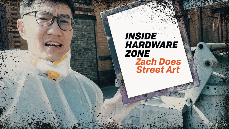Geeky tech editor or edgy street graffiti artist? #InsideHWZ