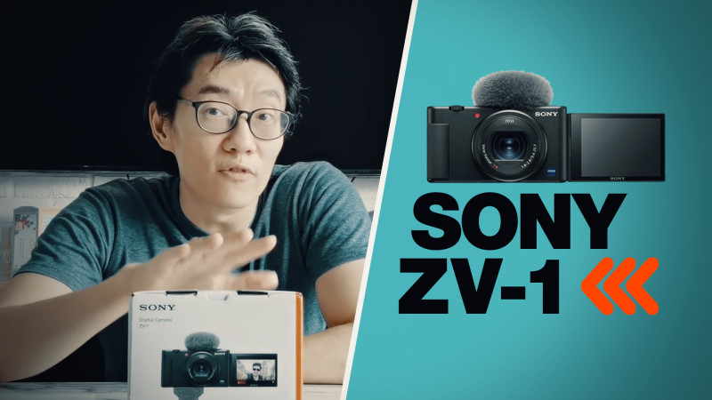 Sony ZV-1 video hands-on: BETTER than RX100 for vlogging?